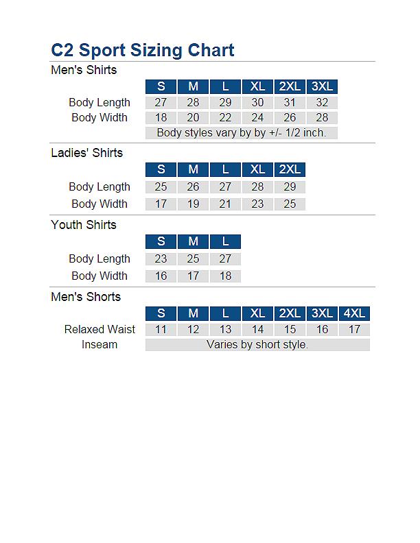 C@-Sport-Sizing-chart